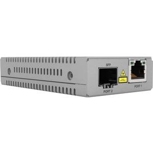 Convertitore file multimediali/ricetrasmettitore Allied Telesis MMC2000/SP - TAA Conforme - 1 Porta(e) - 1 x Rete (RJ-45)