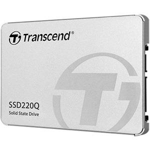 """Unità stato solido Transcend 220Q - 2,5"""" Interno - 500 GB - SATA (SATA/600) - Desktop PC, Computer portatile, Gaming Conso"""