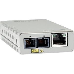 Convertitore file multimediali/ricetrasmettitore Allied Telesis MMC200LX/SC - TAA Conforme - 2 Porta(e) - 1 x Rete (RJ-45)