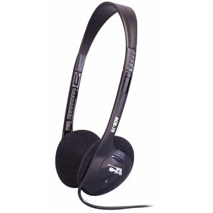 Cyber Acoustics ACM-70b Lightweight PC/Audio Stereo Headphone - Stereo - Mini-phone - Wired - 20 Hz 20 kHz - Over-the-head