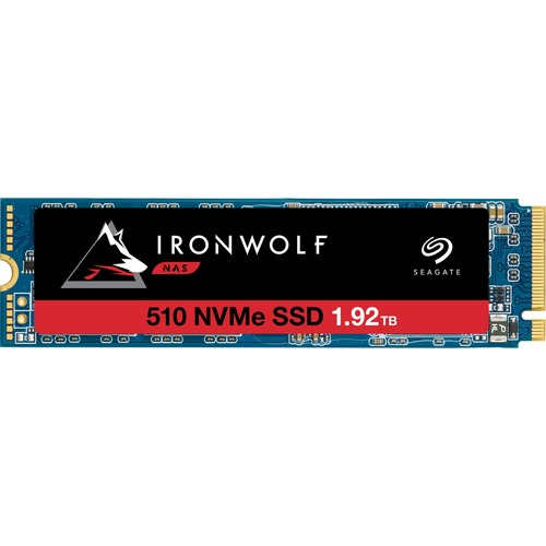 Seagate IronWolf 510 ZP1920NM30011 1.92 TB Solid State Drive - M.2 Internal - PCI Express NVMe - Conventional Magnetic Rec