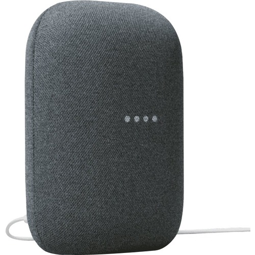 Smart Speaker Google Nest Audio Bluetooth - Google Assistant Supportati - Charcoal - LAN wireless