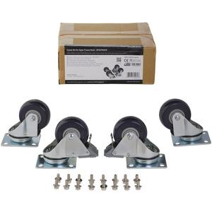 StarTech.com Caster Kit for Open Frame Rack - 200 kg - 4 / Set - TAA Compliant