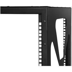 StarTech.com 12U Sideways Wall-Mount Rack for Servers - Side-Mount Server Rack for Easy Access - 159.39 kg Maximum Weight