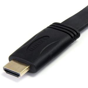 StarTech.com Cavo piatto HDMI® ad alta velocità da 5 m con Ethernet - HDMI - M/M - Estremità 1: 1 x HDMI Maschio Audio/vid