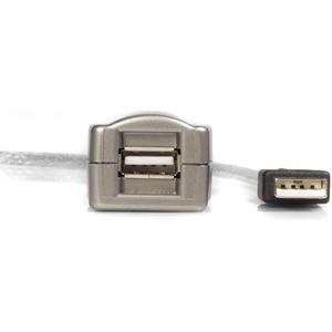 Cable de 4.5m Extensor Activo USB 2.0 - Macho a Hembra USB A StarTech.com USB2FAAEXT15