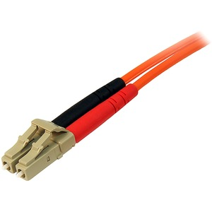 StarTech.com 15m Fiber Optic Cable - Multimode Duplex 50/125 - LSZH - LC/LC - OM2 - LC to LC Fiber Patch Cable - First End