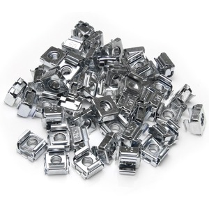 StarTech.com 50 Pack M5 Cage Nuts for Server Rack Cabinets - 50 Pack