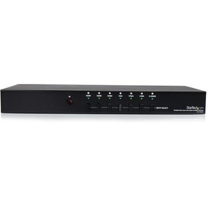 StarTech.com Multiple Video Input with Audio to HDMI® Scaler Switcher - HDMI / VGA / Component - Share an HDMI display bet
