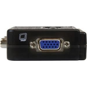 Juego de Conmutador KVM de 2 puertos con todo incluido - USB - Audio y video VGA StarTech.com SV211KUSB
