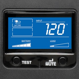 No Break UPS Interactivo SmartPro1500VA 900W Torre con LCD AVR USB - 1500 VA/900 W - 120 V CA - Torre - 10 Minutos (450W)