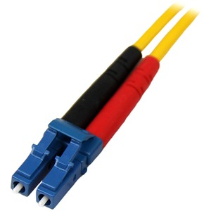 StarTech.com 4m Fiber Optic Cable - Single-Mode Duplex 9/125 - LSZH - LC/LC - OS1 - LC to LC Fiber Patch Cable - First End