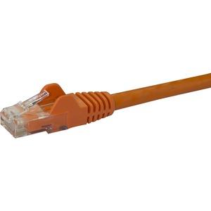 StarTech.com 100ft CAT6 Ethernet Cable - Orange Snagless Gigabit CAT 6 Wire 100W PoE RJ45 UTP 650MHz Category 6 Network Pa