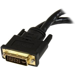 StarTech.com Cable Divisor de 20cm DVI-I Macho a DVI-D y VGA Hembra - Splitter para Terminales Wyse - Extremo prinicpal: 1