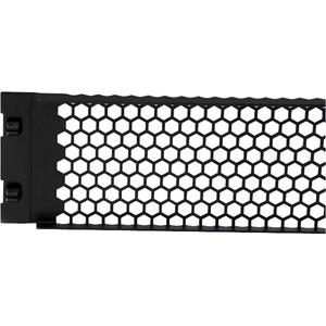StarTech.com Panel Ciego de Relleno 2U para Armario Rack - Panel de Ventilación de Instalación sin Herramientas - Acero -