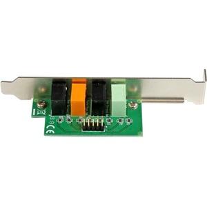 StarTech.com 7.1 Channel Sound Card - PCI Express - 24-bit - 192KHz - SPDIF Digital Optical and 3.5mm Analog Audio - C-Med