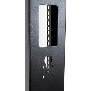 StarTech.com Armadio Server Rack con 2 staffe a Telaio Aperto 42U con ruote orientabili - 300,22 kg Capacità massima di pe