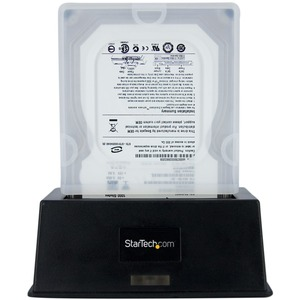 StarTech.com Case for Hard Drive - Clear - Shock Resistant, Impact Resistant, Damage Resistant - Silicone