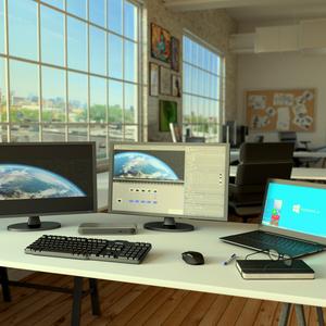 StarTech.com Docking Station Thunderbolt 3 con doppia uscita 4k per portatili - Compatibile con Windows e Mac - Power Deli