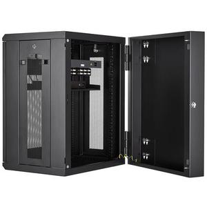 StarTech.com Armario Rack de Servidores Abisagrado de Pared 15U con 20 Pulgadas de Profundidad - 90 kg Capacidad de Peso E