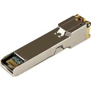 StarTech.com Módulo Transceptor SFP de Cobre RJ45 1000Base-TX MSA de 1000Mbps - Hasta 100m - Para Redes de datos - Par tre