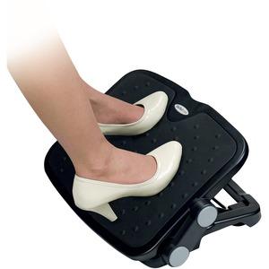 StarTech.com Adjustable Under Desk Foot Rest - Ergonomic Footrest - Large 18x14in - Office Footrest Stool w/ Adjustable He
