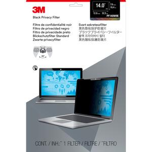 3M PF140W9E Privacy Black E2E for 14.0IN / 35.6 cm / 16:9