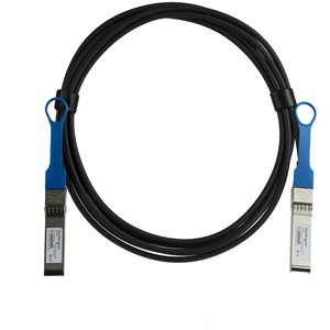 StarTech.com 3 m Twinaxial Network Cable for Network Device, Server, Switch - 1 - First End: 1 x SFP+ Male Network - Secon
