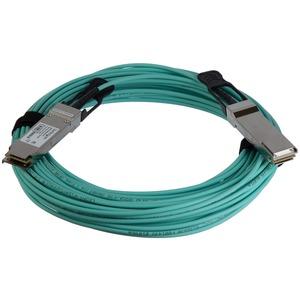 StarTech.com Cable de 15m QSFP+ Activo Óptico Compatible con Cisco QSFP-H40G-AOC15M - 40 GbE - Extremo prinicpal: 1 x QSFP