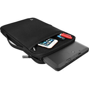 "V7 CSE12HS-BLK-9E Carrying Case (Sleeve) for 31 cm (12.2"") MacBook Air - Black - Fleece Interior, Neoprene Exterior - Hand"