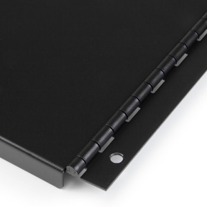 4U Hinged Rack Panel - Solid Blanking Panel for 19-inch Server Racks - Tool-less Filler Panel (RKPNLHS4U)