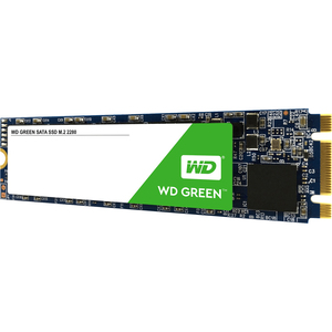 WD Green WDS240G2G0B 240 GB Solid State Drive - M.2 2280 Internal - SATA (SATA/600) - Desktop PC, All-in-One PC, Notebook