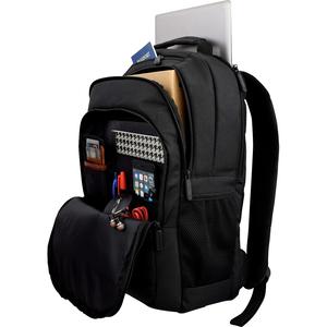 """Mochila Profesional para portátil 16"""" negro, bolsillo RFID que protege sus tarjetas de crédito con chip, Material duradero"""