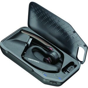 Plantronics Voyager Wireless Earbud, Over-the-ear Earset - Monaural - In-ear - 3000 cm - Bluetooth - 6.80 kHz - Noise Redu