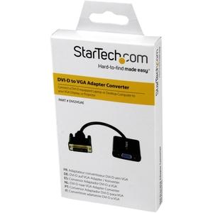 StarTech.com 19.05 cm DVI-D/USB/VGA Video Cable for Video Device, Notebook, Monitor, Projector, Desktop Computer - 1 - Fir