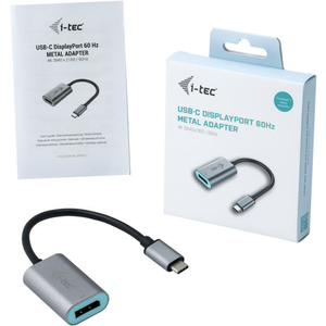 i-tec Graphic Adapter - Type C - 1 x DisplayPort, DisplayPort
