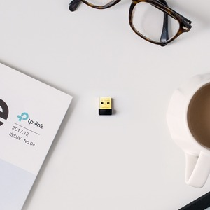 TP-Link Archer T2U Nano IEEE 802.11ac Wi-Fi Adapter for Notebook - USB 2.0 - 600 Mbit/s - 2.40 GHz ISM - 5 GHz UNII - Exte
