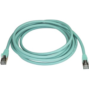 StarTech.com Cat6a Patch Network Cable - 3 m Category 6a Network Cable for PoE-enabled Device, Computer, Hub, Router, Patc