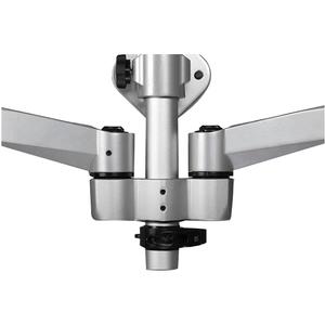 StarTech.com Postazione di lavoro ergonomica a parete - Scrivania con braccio ergonomico regolabile in altezza per doppio