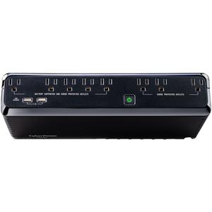CyberPower SL700U Standby UPS Systems - 120 VAC, NEMA 5-15P, Compact, 8 Outlets, PowerPanel® Personal, $100000 CEG, 3YR Wa