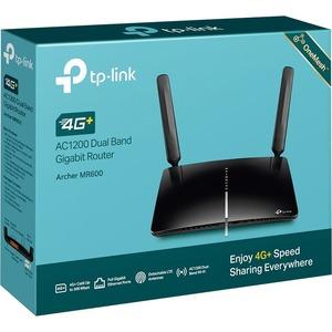 Router 4G+ Cat6 fino a 300Mbps Wi-Fi Dual Band AC1200 Tecnologia MU-MIMO 3 Porte Gigabit LAN 1 Porta Gigabit LAN/WAN