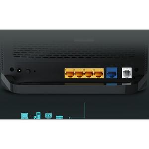 Modem/Router wireless TP-Link Archer VR1200 - Wi-Fi 5 - IEEE 802.11ac - Ethernet, ADSL, VDSL - 2,40 GHz ISM band - 5 GHz B