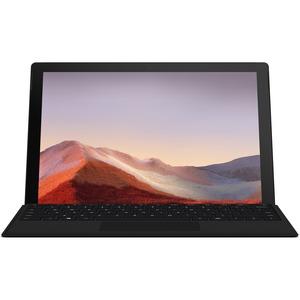 "Microsoft Surface Pro 7 Tablet - 12.3"" - Intel Core i7 10th Gen - 16 GB RAM - 256 GB SSD - Windows 10 Pro - Matte Black -"