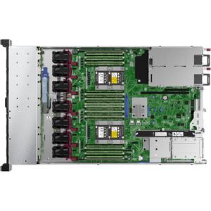 HPE ProLiant DL360 G10 1U Rack Server - 1 x Intel Xeon Silver 4208 2.10 GHz - 16 GB RAM - Serial ATA/600, 12Gb/s SAS Contr