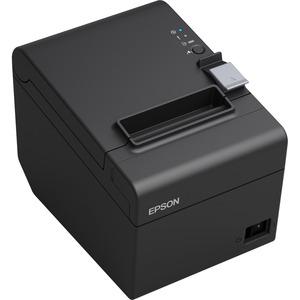 Epson TM-T20III Desktop Direct Thermal Printer - Monochrome - Receipt Print - Ethernet - 250 mm/s Mono - 203 x 203 dpi - 8