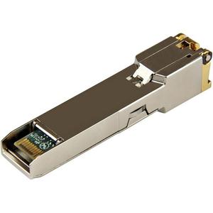 StarTech.com 10050-ST SFP (mini-GBIC) - 1 x RJ-45 1000Base-T LAN - For Data Networking - Twisted PairGigabit Ethernet - 10