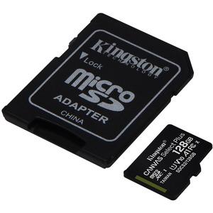 microSDXC Kingston Canvas Select Plus - 128 GB - Class 10/UHS-I (U1) - 1 Paquete(s) - 100 MB/s Leer