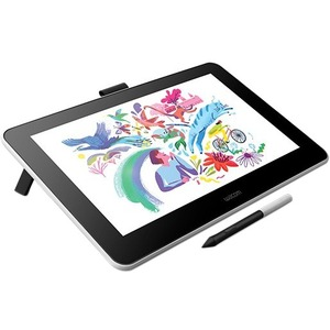 "Wacom One DTC133W0C Graphics Tablet - 33.8 cm (13.3"") - 2540 lpi - Cable - 4096 Pressure Level - Pen - HDMI - Mac, PC"