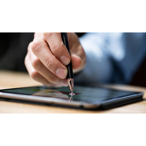 Adonit Pro 4 Stylus - Capacitive Touchscreen Type Supported - Aluminium - Black - Smartphone Device Supported