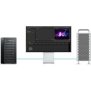 Promise Pegasus32 R8 8 x Total Bays DAS Storage System Tower - Serial ATA - Thunderbolt 3 - Serial ATA Controller - RAID S